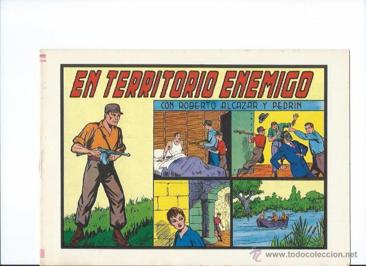 ROBERTO ALCAZAR Y PEDRIN Nª 152 EN TERRITORIO ENEMIGO (Tebeos y Comics - Valenciana - Roberto Alcázar y Pedrín)