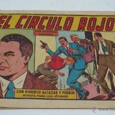 Tebeos: EL CIRCULO ROJO. Lote 49396274