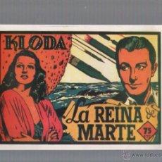 Tebeos: FACSIMIL. KLODA. LA REINA DE MARTE. EDITORIAL VALENCIANA. Lote 49524403
