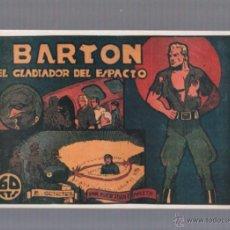 Tebeos: FACSIMIL. BARTON, EL GLADIADOR DEL ESPACIO. EDITORIAL VALENCIANA. Lote 49535034