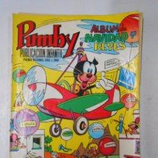 Tebeos: PUMBY. ALBUM DE NAVIDAD Y REYES AÑO 1972. EDITORIAL VALENCIANA. TDKC8. Lote 49687095