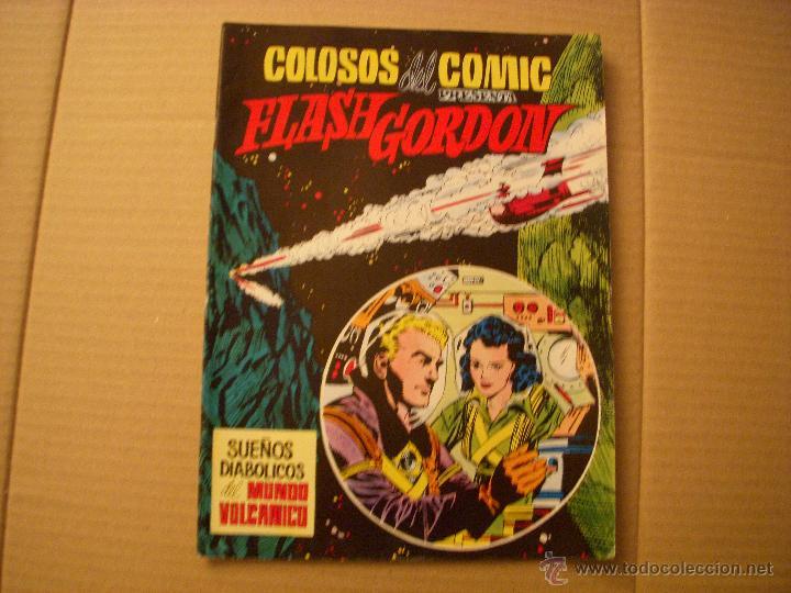 COLOSOS DEL COMIC PRESENTA A FLASH GORDON Nº 10, EDITORIAL VALENCIANA (Tebeos y Comics - Valenciana - Colosos del Comic)