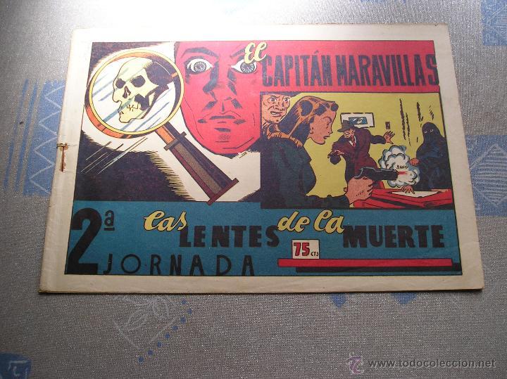Tebeos: EL CAPITAN MARAVILLAS ¡¡ ORIGINAL !!. 2ª JORNADA. LAS LENTES DE LA MUERTE. FOTOS TODAS PAGINAS - Foto 2 - 49768085