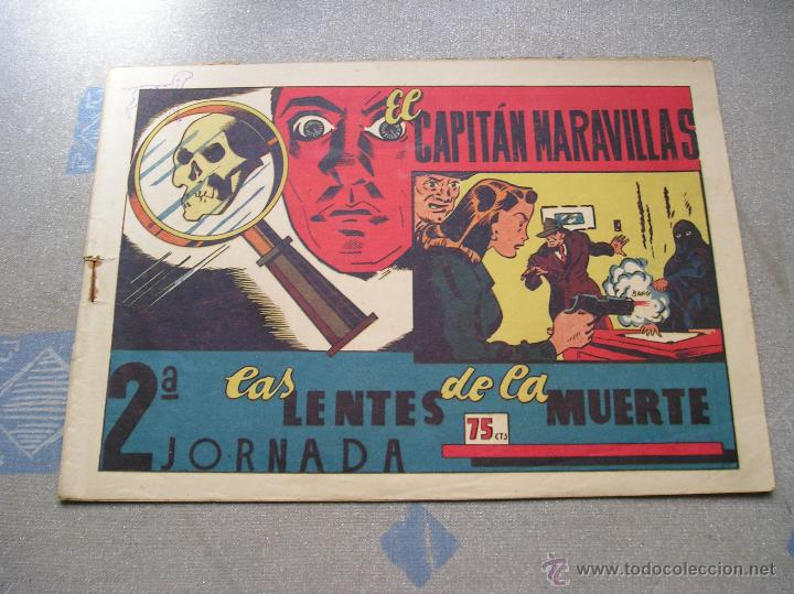 Tebeos: EL CAPITAN MARAVILLAS ¡¡ ORIGINAL !!. 2ª JORNADA. LAS LENTES DE LA MUERTE. FOTOS TODAS PAGINAS - Foto 3 - 49768085