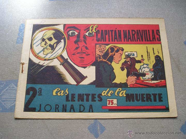 Tebeos: EL CAPITAN MARAVILLAS ¡¡ ORIGINAL !!. 2ª JORNADA. LAS LENTES DE LA MUERTE. FOTOS TODAS PAGINAS - Foto 4 - 49768085