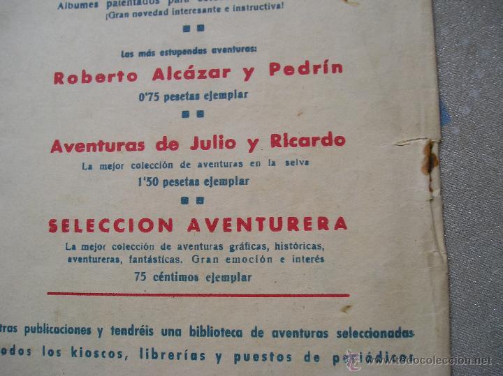 Tebeos: EL CAPITAN MARAVILLAS ¡¡ ORIGINAL !!. 2ª JORNADA. LAS LENTES DE LA MUERTE. FOTOS TODAS PAGINAS - Foto 35 - 49768085