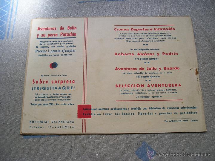 Tebeos: EL CAPITAN MARAVILLAS ¡¡ ORIGINAL !!. 2ª JORNADA. LAS LENTES DE LA MUERTE. FOTOS TODAS PAGINAS - Foto 36 - 49768085