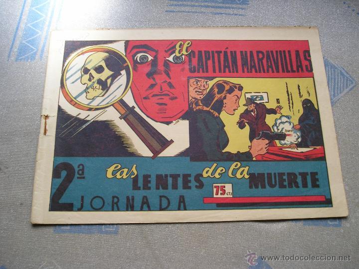 Tebeos: EL CAPITAN MARAVILLAS ¡¡ ORIGINAL !!. 2ª JORNADA. LAS LENTES DE LA MUERTE. FOTOS TODAS PAGINAS - Foto 37 - 49768085
