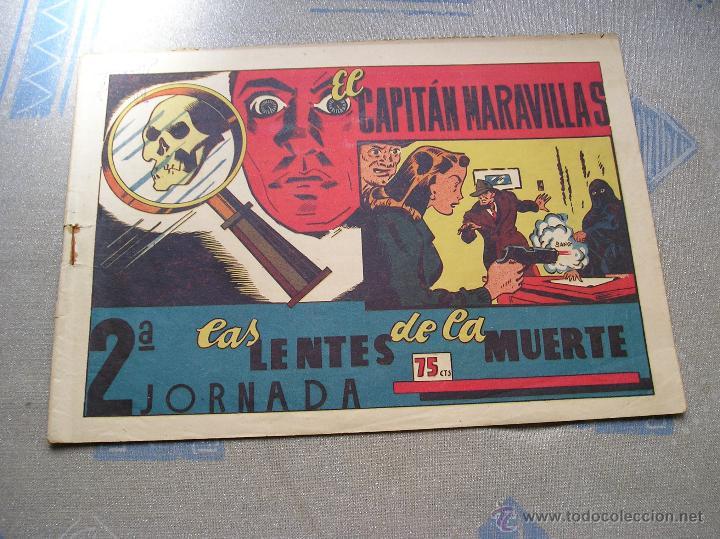 Tebeos: EL CAPITAN MARAVILLAS ¡¡ ORIGINAL !!. 2ª JORNADA. LAS LENTES DE LA MUERTE. FOTOS TODAS PAGINAS - Foto 38 - 49768085