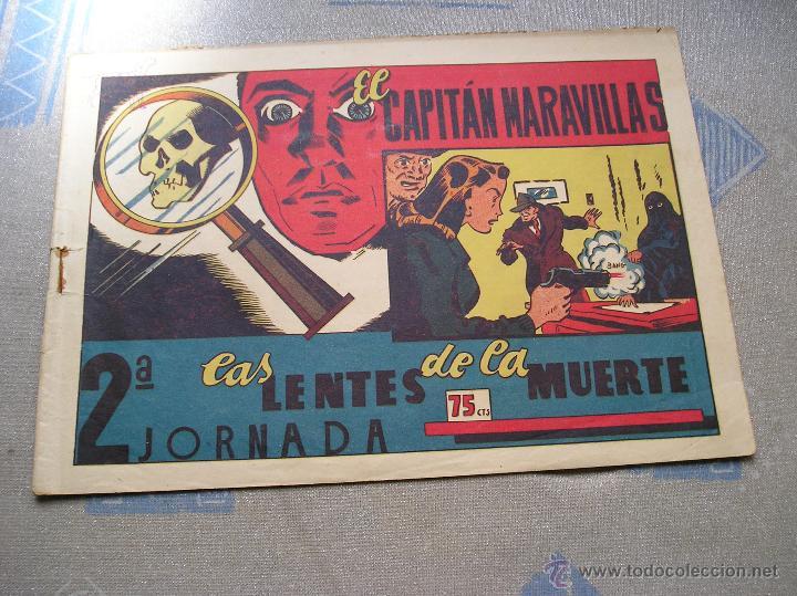 Tebeos: EL CAPITAN MARAVILLAS ¡¡ ORIGINAL !!. 2ª JORNADA. LAS LENTES DE LA MUERTE. FOTOS TODAS PAGINAS - Foto 39 - 49768085