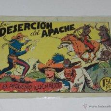 Tebeos: (M-1) EL PEQUEÑO LUCHADOR NUM 28 LA DESERCION DEL APACHE, EDC VALENCIANA , SEÑALES DE USO. Lote 49940782