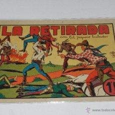 Tebeos: (M-1) EL PEQUEÑO LUCHADOR NUM 13 LA RETIRADA, EDC VALENCIANA , SEÑALES DE USO. Lote 49940817