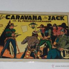 Tebeos: (M-1) EL PEQUEÑO LUCHADOR NUM 15 LA CARAVANA DE JACK , EDT VALENCIANA, SEÑALES DE USO. Lote 49940831