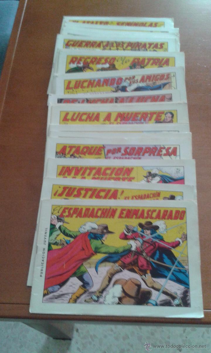 2A EDICION AÑOS 80 (Tebeos y Comics - Valenciana - Espadachín Enmascarado)