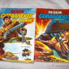 Tebeos: COMANDOS EN ACCION .5 TOMOS 27 NUMEROS.. Lote 63610594