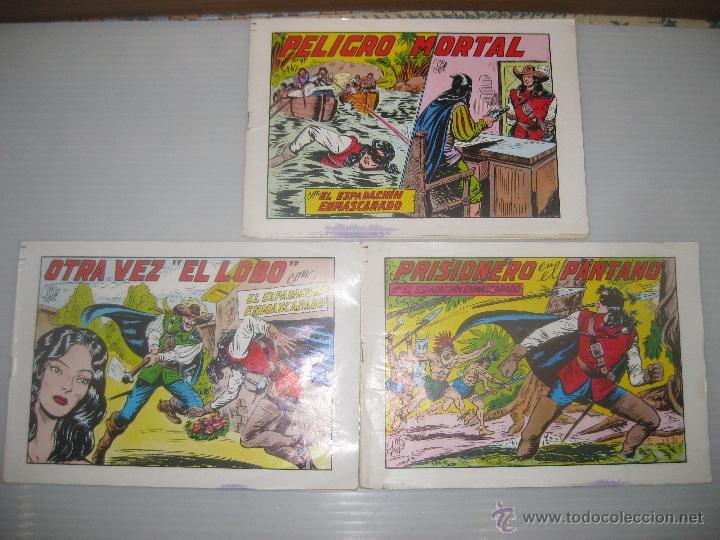 3 EL ESPADACHIN ENMASCARADO Nº,27,31,32 (Tebeos y Comics - Valenciana - Espadachín Enmascarado)