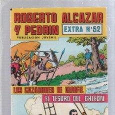 Tebeos: ROBERTO ALCAZAR Y PEDRIN. PUBLICACION JUVENIL. EXTRA Nº 52.. Lote 50302775