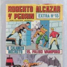 Tebeos: ROBERTO ALCAZAR Y PEDRIN. PUBLICACION JUVENIL. EXTRA Nº 15.. Lote 50303155