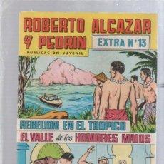Tebeos: ROBERTO ALCAZAR Y PEDRIN. PUBLICACION JUVENIL. EXTRA Nº 13.. Lote 50303241