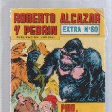 Tebeos: ROBERTO ALCAZAR Y PEDRIN. PUBLICACION JUVENIL. EXTRA Nº 60.. Lote 50303249