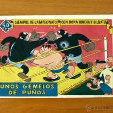 Tebeos: SIEMPRE DE CAMPEONATO CON DOÑA HINCHA Y SILBATO-Nº 2 UNOS GEMELOS DE PUÑOS-EDITORIAL VALENCIANA 1944. Lote 50333057