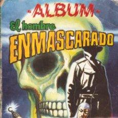 Tebeos: EL HOMBRE ENMASCARADO - ALBUM Nº 4 COLOSOS DE COMIC - RETAPADO Nº 31,32,33,34 EDT. VALENCIANA 1981. Lote 50673570
