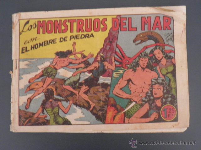 EL HOMBRE DE PIEDRA (Tebeos y Comics - Valenciana - Purk, el Hombre de Piedra)