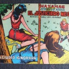 Tebeos: EL JUSTICIERO NEGRO Nº 8 EDITORIAL VALENCIANA. Lote 51090796
