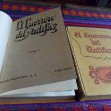 Tebeos: EL GUERRERO DEL ANTIFAZ TOMO Nº 1 Y 4. VALENCIANA 1972. . Lote 51276841