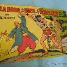 Tebeos: TEBEO, EL PATRIOTA,Nº 8, DE LA VALENCIANA,1961. Lote 51353178