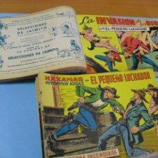Tebeos: 98 TEBEOS, DE EL PEQUEÑO LUCHADOR, EDITORIAL VALENCIANA 1965, 50 EN UN TOMO 48 SUELTOS,. Lote 51361706
