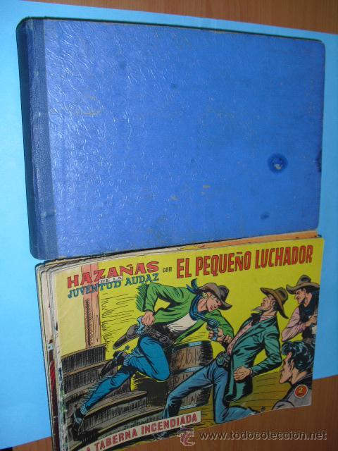 Tebeos: 98 tebeos, de el pequeño luchador, editorial valenciana 1965, 50 en un tomo 48 sueltos, - Foto 2 - 51361706