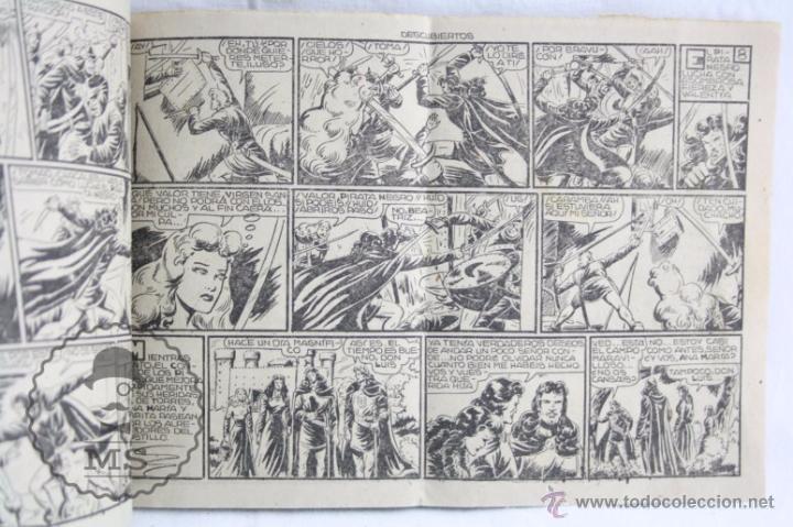 Tebeos: Cómic El Guerrero del Antifaz. Nº 77. Descubiertos - Ed. Valenciana, Año 1948 - Foto 2 - 51417455
