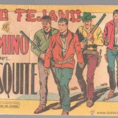 Tebeos: KID TEJANO ORIGINAL Nº 54 EDI. VALENCIANA 1961 - MUY DIFICIL, BUEN ESTADO. Lote 51430370