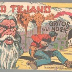 Tebeos: KID TEJANO Nº 52 ORIGINAL EDI. VALENCIANA 1961 - DIFICIL Y MAGNÍFICO ESTADO, SIN CIRCULAR NI ABRIR. Lote 51430380