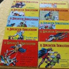 Tebeos: EL ESPADACHIN ENMASCARADO. TOMOS 1 A 10. C-6.. Lote 132534410