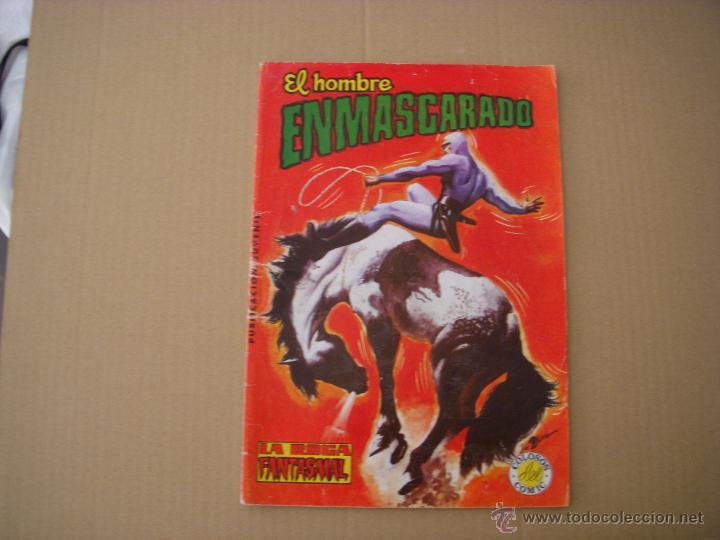 EL HOMBRE ENMASCARADO Nº 25, COLECCIÓN COLOSOS DEL COMIC, VALENCIANA COLOR (Tebeos y Comics - Valenciana - Colosos del Comic)