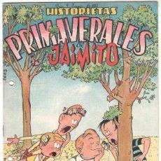 Tebeos: HISTORIETAS PRIMAVERALES DE JAIMITO ORIGINAL - MUY NUEVO. Lote 51639048