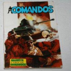 Tebeos: COMIC, COMANDOS Nº 1, MUERTE A TODOS LOS COMANDOS, EDITORA VALENCIANA 1981, BIEN CONSERVADO. Lote 51663982