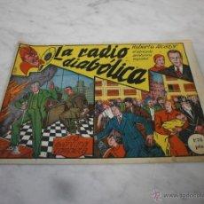 Tebeos: ROBERTO ALCÁZAR Y PEDRÍN - CUADERNILLO ORIGINAL - LA RADIO DIABÓLICA. Lote 51669229