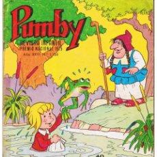 Livros de Banda Desenhada: PUMBY . Nº 1108. VALENCIANA 1980. (ST/). Lote 51671960