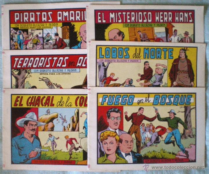 ROBERTO ALCÁZAR-PEDRÍN 13 COMICS NUEVOS 153-155-157-159-160-161-162-163-164-165-166-167-168 (Tebeos y Comics - Valenciana - Roberto Alcázar y Pedrín)