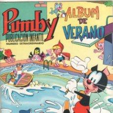 Tebeos: PUMBY ORIGINAL Nº EXTRAORDINARIO, ALBUM DE VERANO 1971 MAGNÍFICO ESTADO. Lote 51768182