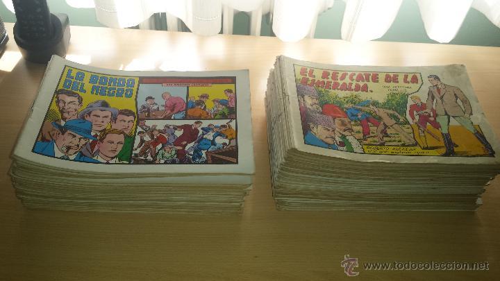 ROBERTO ALCAZAR Y PEDRIN 104 NÚMEROS REEDICIÓN PRINCIPIOS 1980 - VALENCIANA (Tebeos y Comics - Valenciana - Roberto Alcázar y Pedrín)
