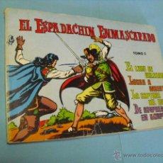 Tebeos: EL ESPADACHIN ENMASCARADO TOMO 3, CON 4 NUMEROS 9-10-11-12,. Lote 51794541