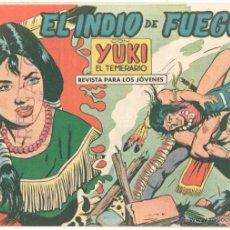 Tebeos: YUKI EL TEMERARIO ORIGINAL Nº 51 EDI VALENCIANA 1958 - DIBUJOS IBAÑEZ. Lote 51810958