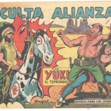 Tebeos: YUKI EL TEMERARIO ORIGINAL Nº 61 EDI VALENCIANA 1958 - DIBUJOS IBAÑEZ, HOJAS SIN ABRIR. Lote 51811054
