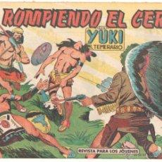 Tebeos: YUKI EL TEMERARIO ORIGINAL Nº 64 EDI VALENCIANA 1958 - DIBUJOS JOSÉ GONZÁLEZ. Lote 51811099