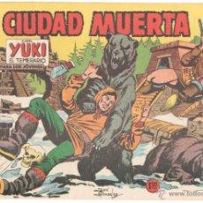 Tebeos: YUKI EL TEMERARIO ORIGINAL Nº 67 EDI VALENCIANA 1958 - DIBUJOS JOSÉ GONZÁLEZ, MUY NUEVO. Lote 51811150
