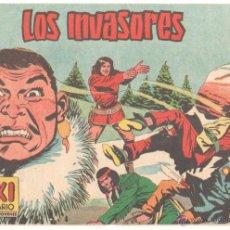 Tebeos: YUKI EL TEMERARIO ORIGINAL Nº 110 EDI VALENCIANA 1958 - DIBUJOS JOSÉ GONZÁLEZ. Lote 51811319